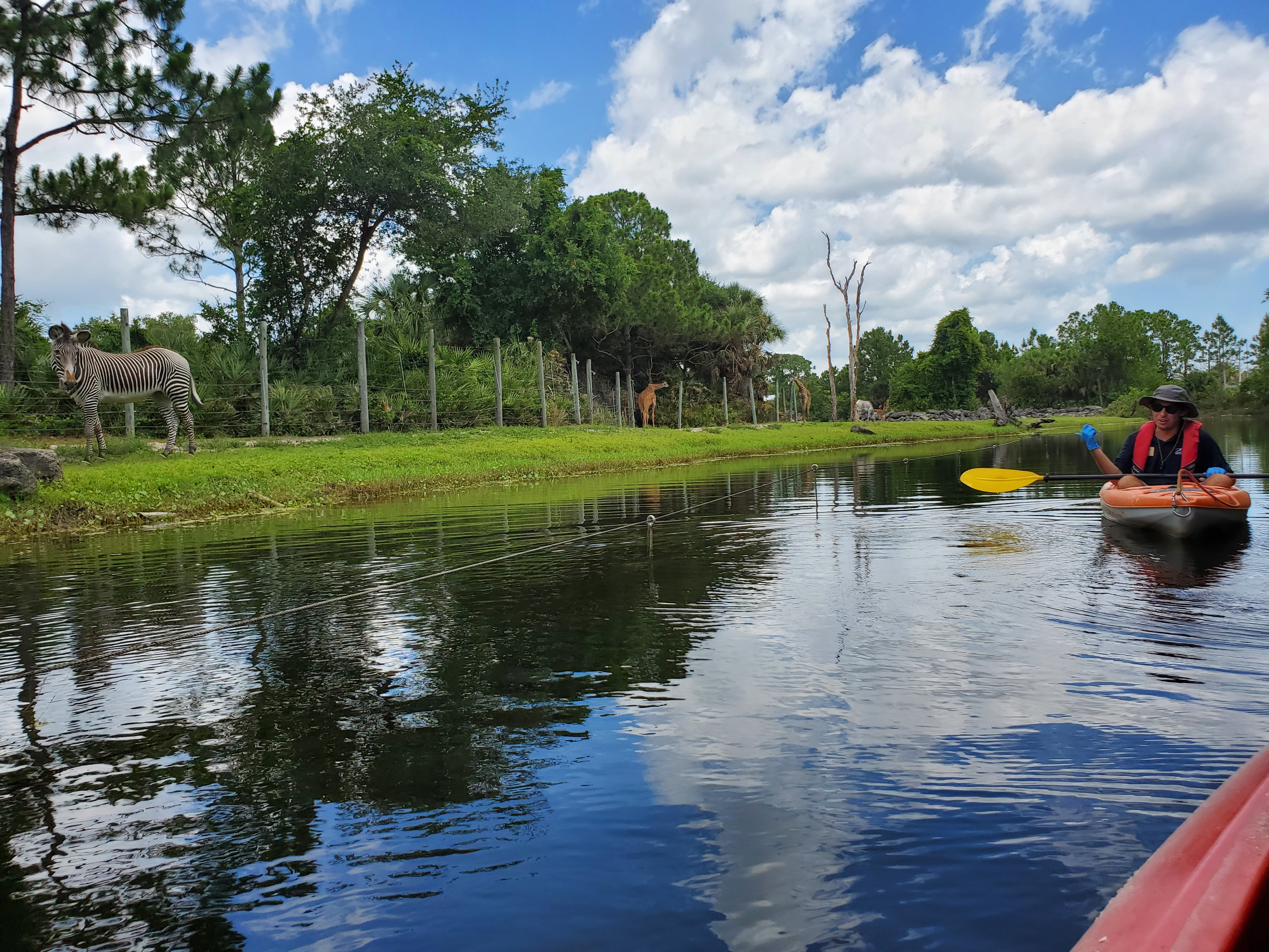 Kayaking at Brevard Zoo