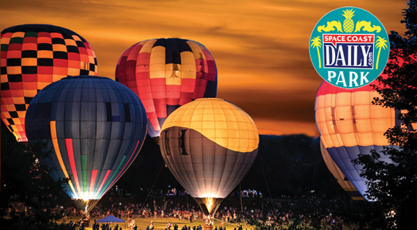 Space Coast Daily Park Balloon Glow