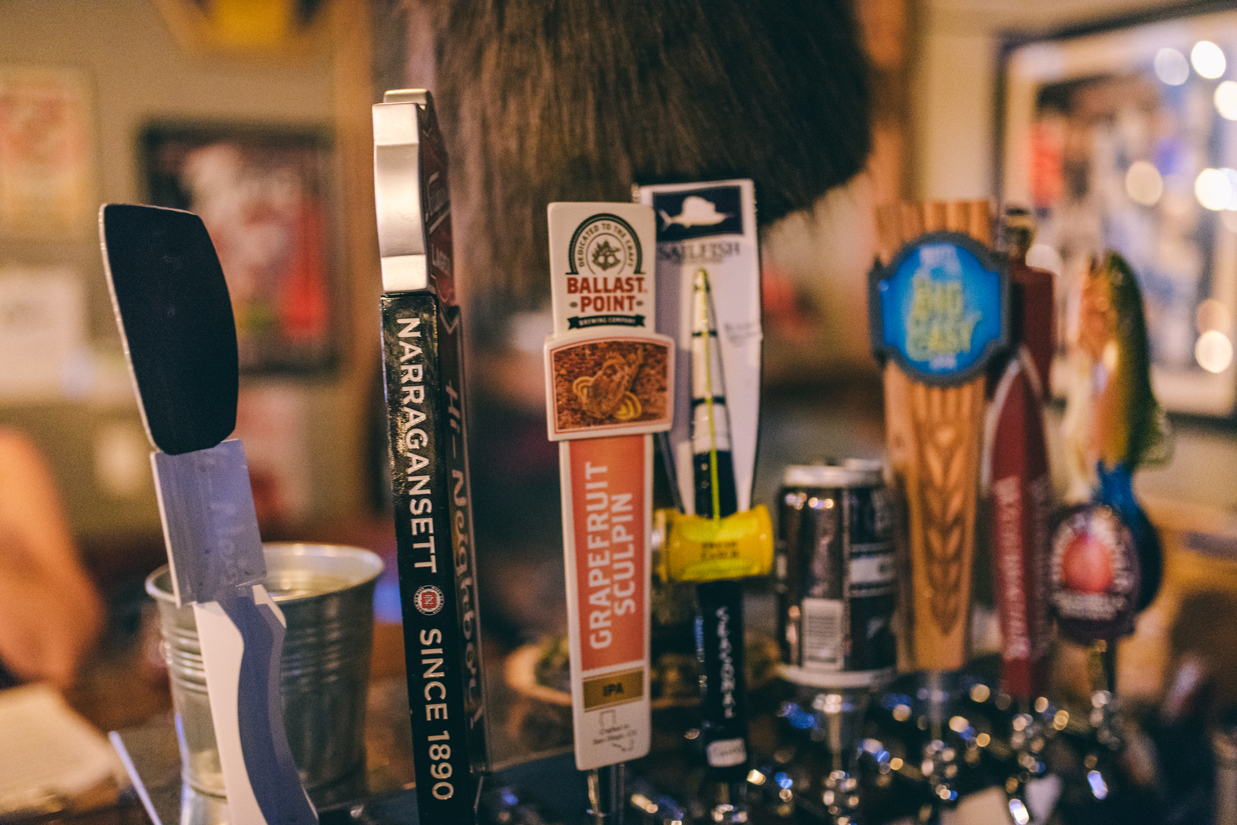 Beer Taps at Village Idiot in Cocoa Village