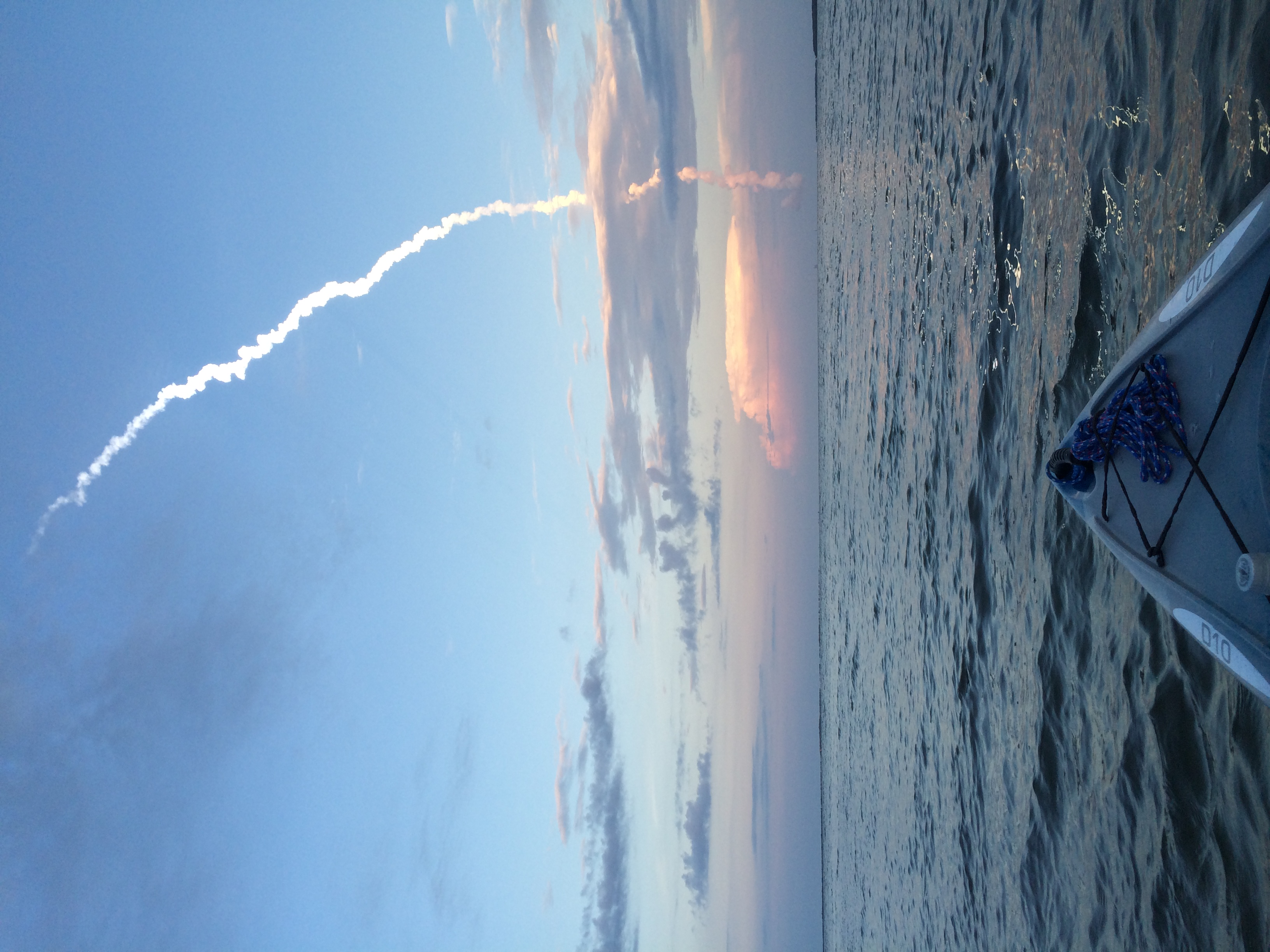 Rocket Launch from a Kayak in the Indian River Lagoon