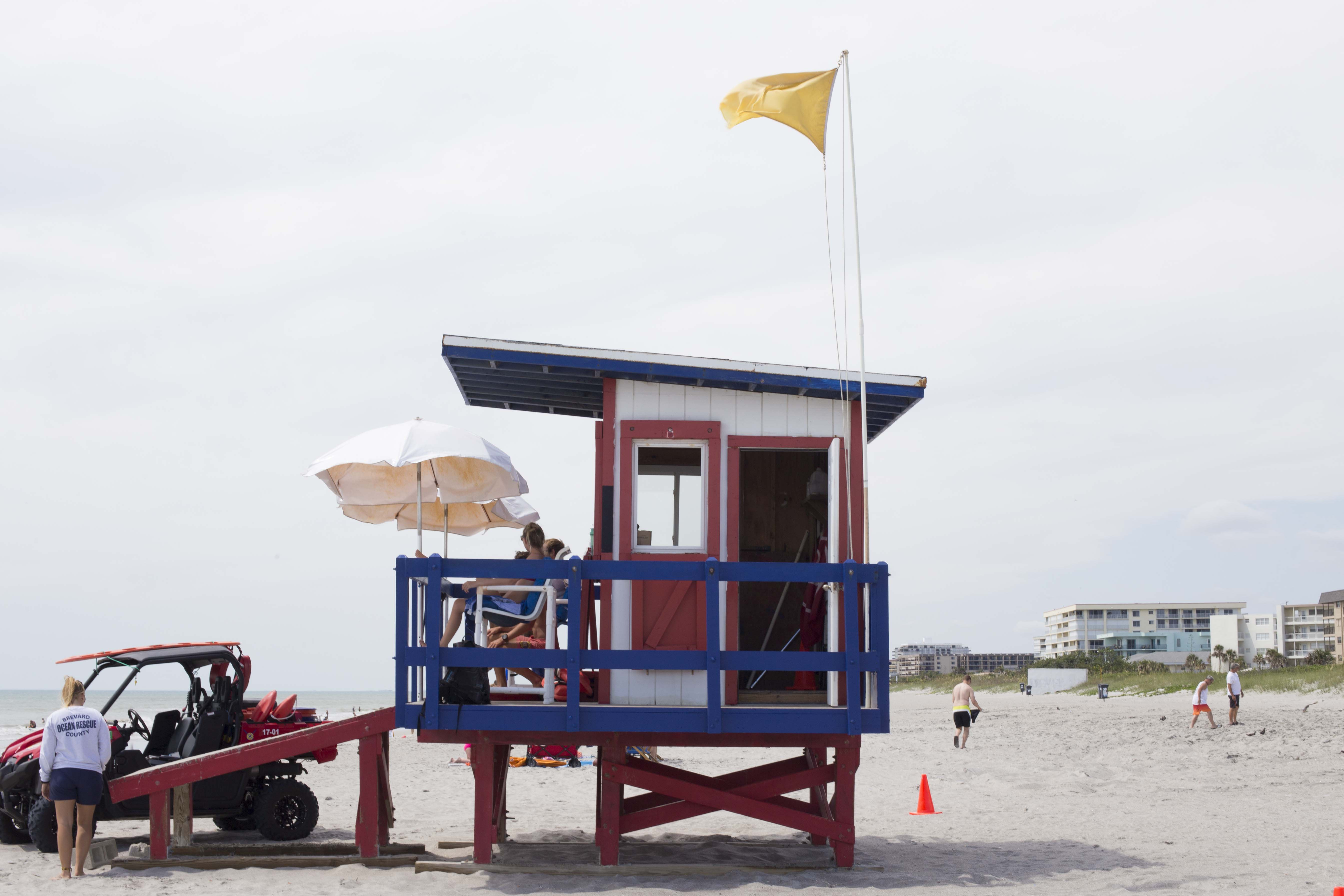 Lifeguards on the Space Coast