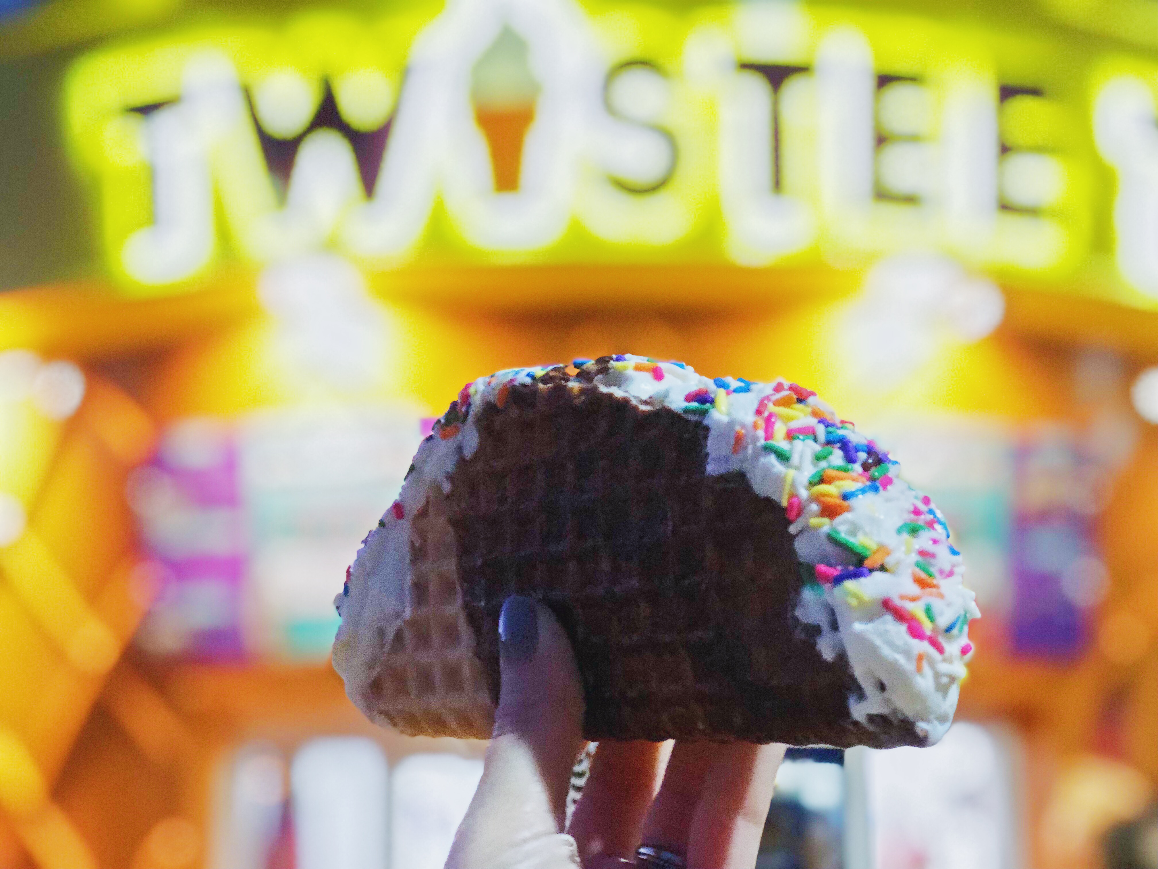 Ice Cream Taco from Twistee Treat
