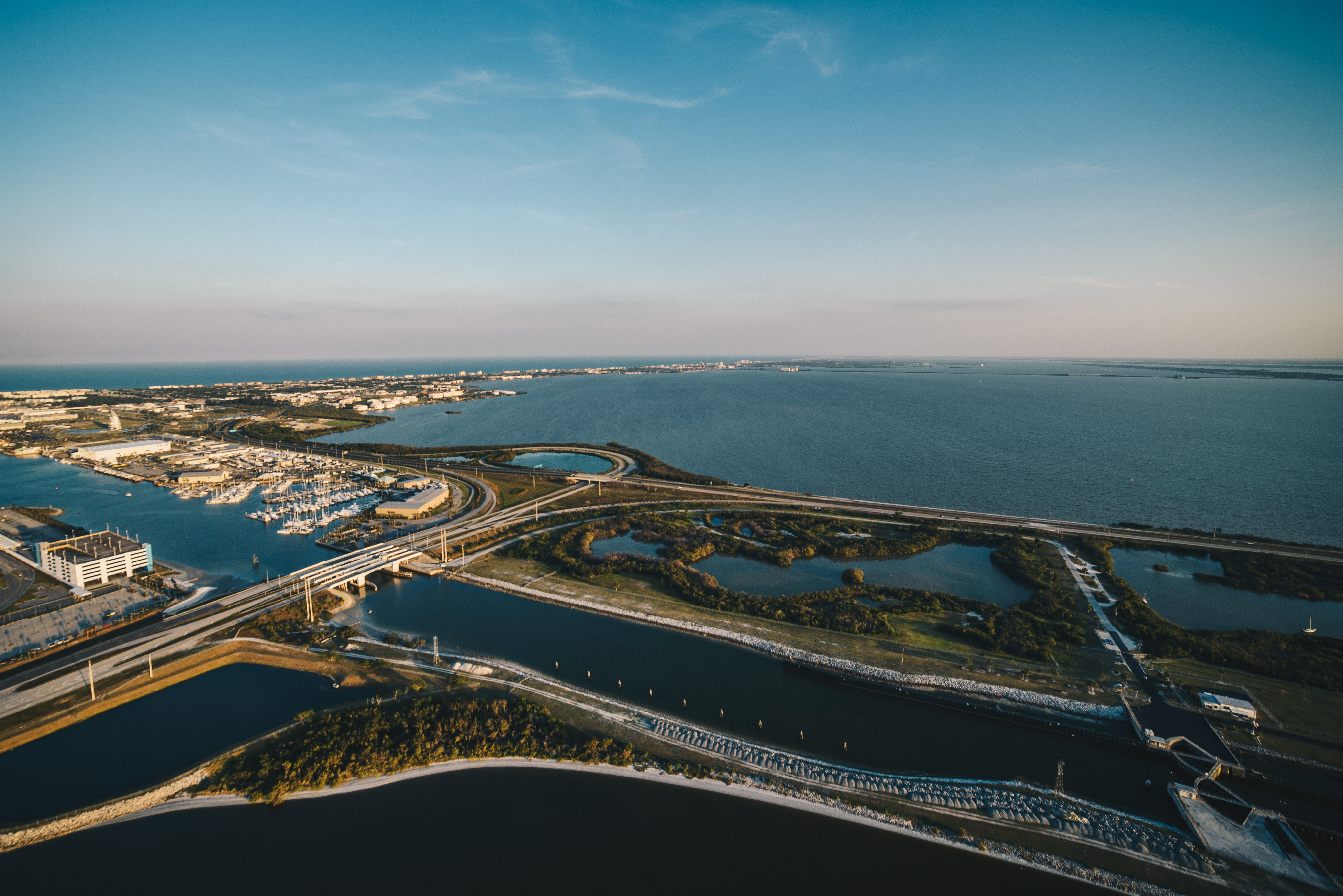SR-40 and 528 interchange at Port Canaveral