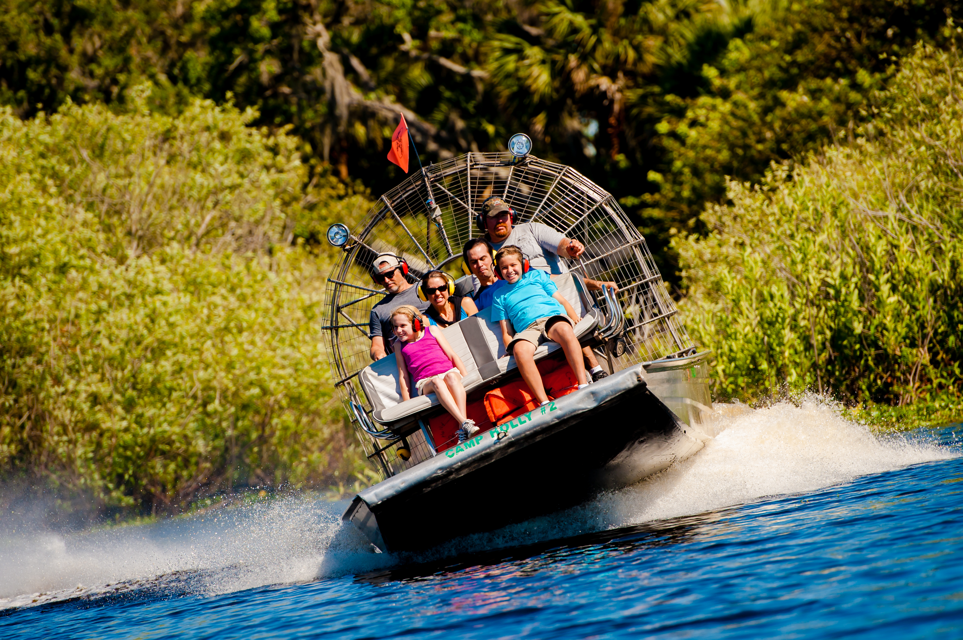 Air Boat Ride on Florida's Space Coast