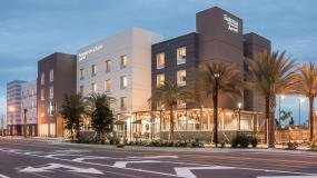 Exterior of the new Fairfield Inn & Suites in Viera, FL