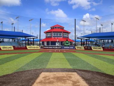 One of the fields at the USSSA Space Coast Complex in Viera, FL