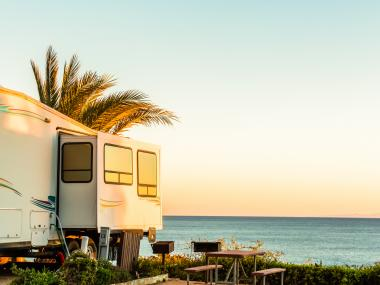 RV on the Beach
