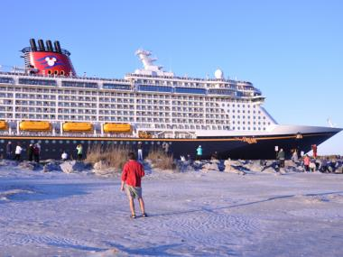 Disney Cruise at the Jetty