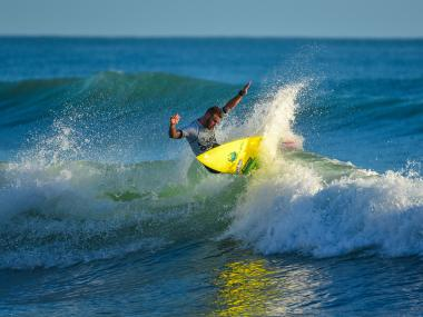 Surfing on Florida's Space Coast