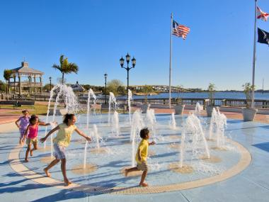 Splash Pad in Cocoa Village