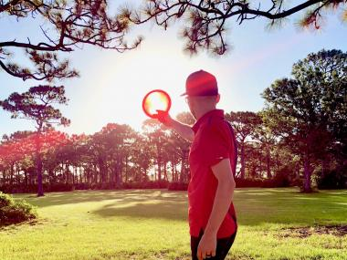 Disc golf on Florida's Space Coast