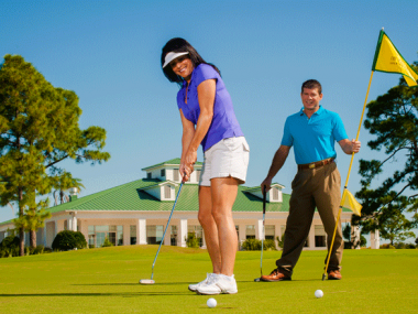 Golfing in Melbourne on Florida's Space Coast