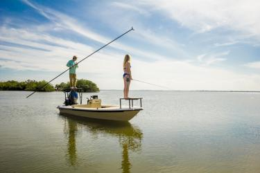 Fishing in the Indian River Lagoon on Florida's Space Coast