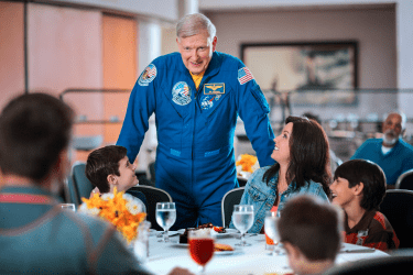 lunch with an astronaut