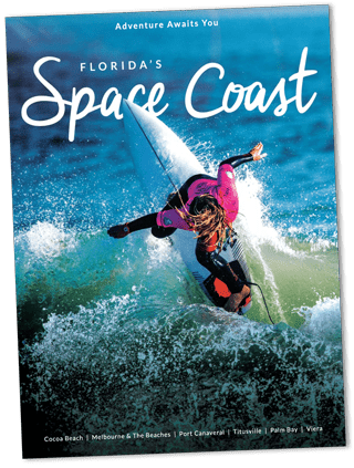 Space Coast Visitors Guide Cover Image