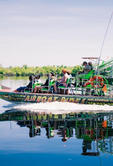 Airboat tours on Florida's Space Coast