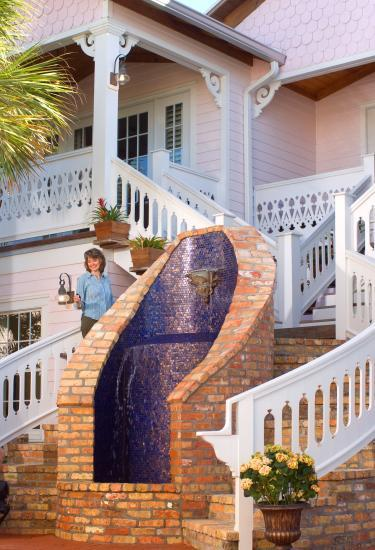The beautiful Port D'Hiver Bed and Breakfast in Melbourne Beach, FL