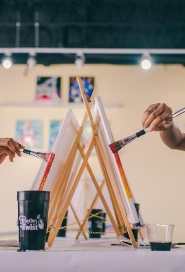 Painting with a Twist in Cocoa Village