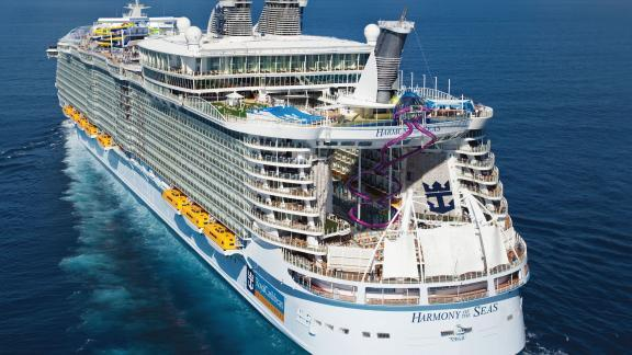 Royal Caribbean's Harmony of the Seas cruise ship