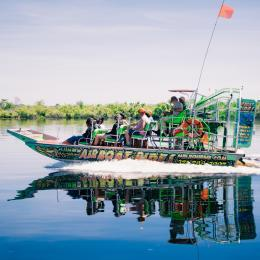 Airboat rides and tours in Melbourne, FL