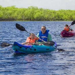 Exploring the waterways of Florida's Space Coast on a kayak rental