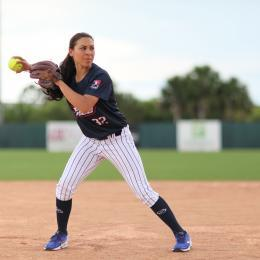 The USSSA Pride playing pro softball at the Space Coast Complex in Viera, FL