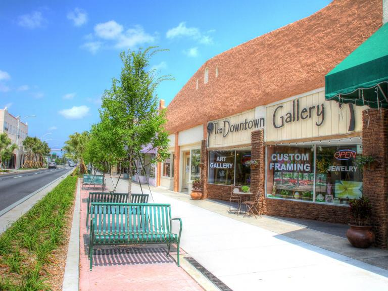 The Downtown Gallery in Downtown Titusville