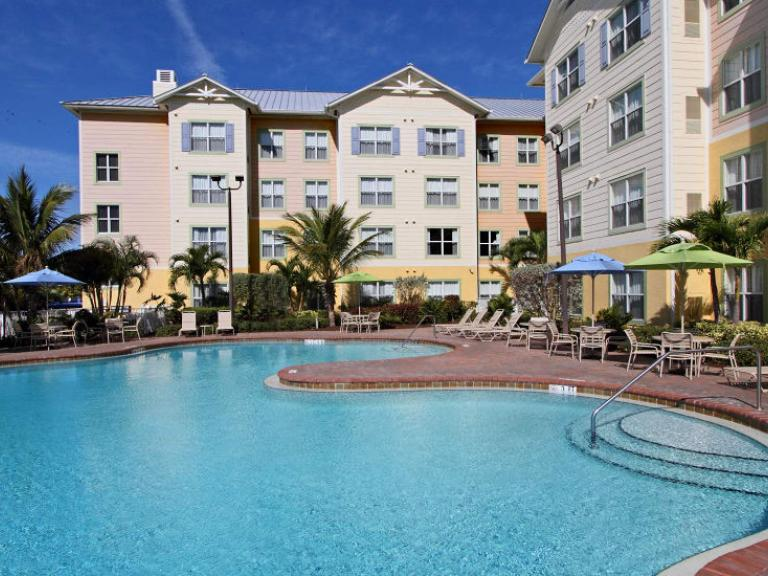 Pool at the Residence Inn by Marriott in Cape Canaveral, FL