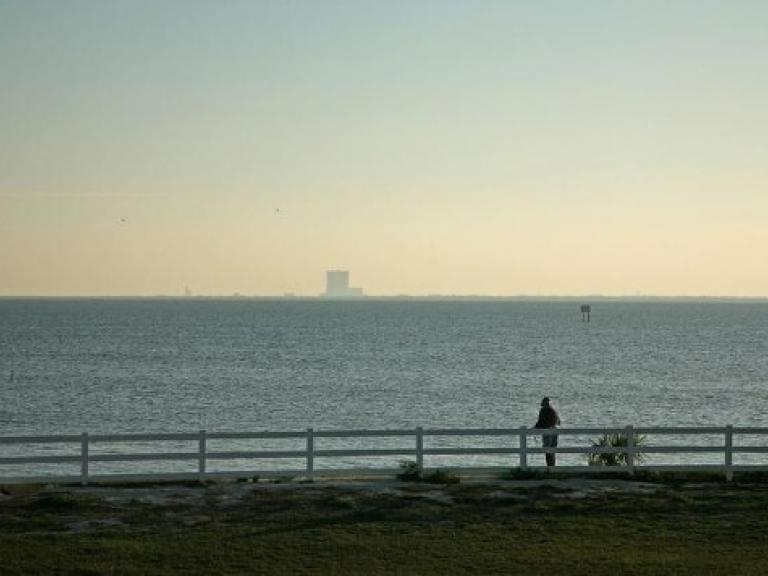 Sand Point Park in Titusville, FL is one of best viewing areas for rocket launches on the Space Coast