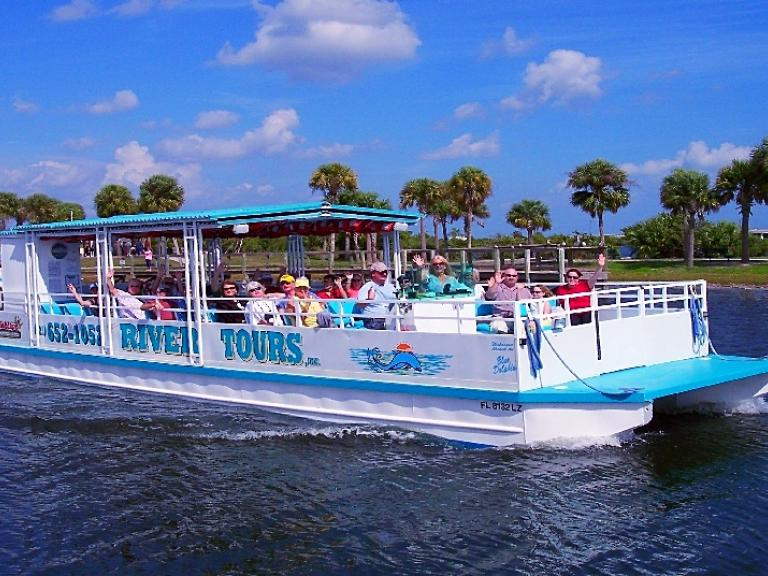 Explore the Indian River Lagoon and discover wildlife on the Space Coast River Tour in Titusville, FL