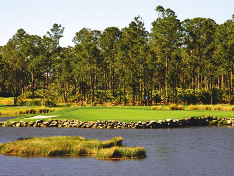 A world class golf course at the Majors Golf Club in Palm Bay, FL