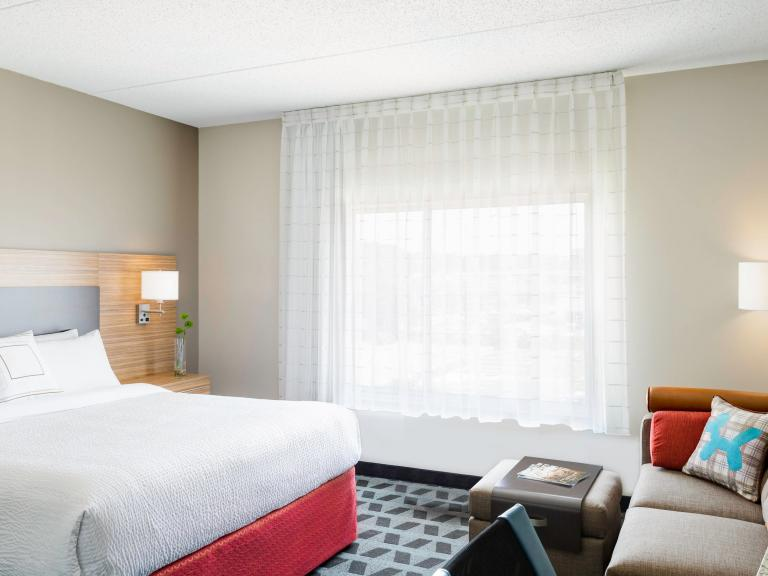 Suites designed for extended stays at the TownePlace Suites Titusville by Marriott Kennedy Space Center