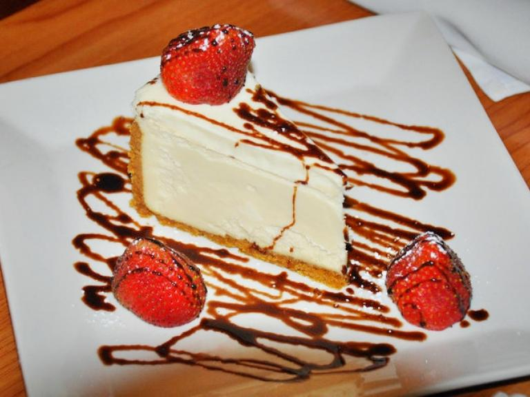 Cheesecake from Amici's Italian Restaurant