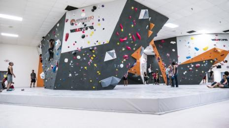 Adventure HQ Climbing Walls