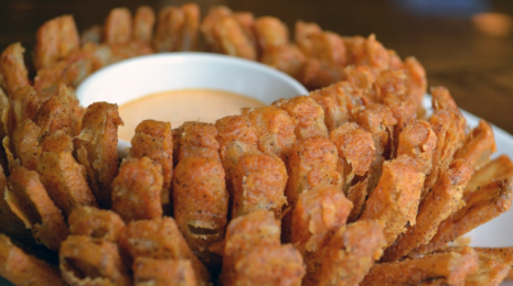 Blooming onion from Outback Steakhouse in Palm Bay, FL