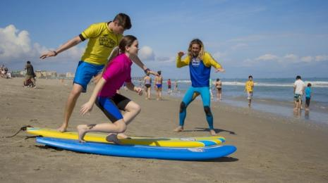 Ron Jon Surf School Lesson