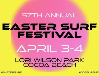 57th Annual Easter Surf Festival Poster
