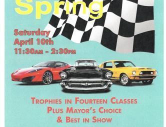 2021 Cocoa Village Spring Car Show Poster