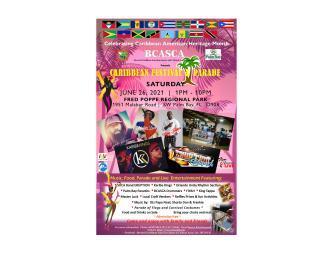 2021 Caribbean Festival Flyer