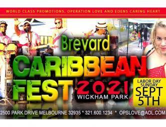 2021 Brevard Caribbean Fest Flyer
