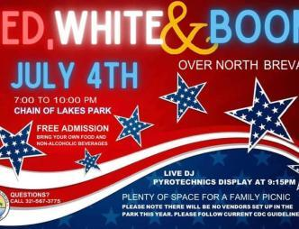 Red, White and Boom Poster