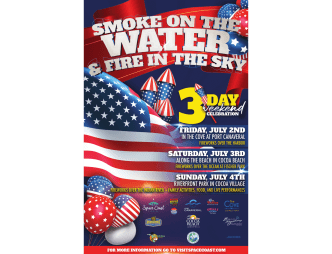 Smoke on the Water and Fire in the Sky Poster