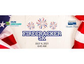 2021 Firecracker 5k Logo