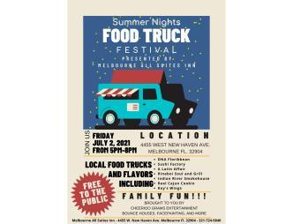 Food Truck Poster with participants