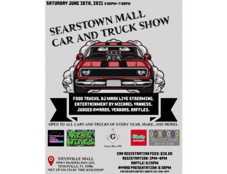 Searstown Mall Car Show Poster 1
