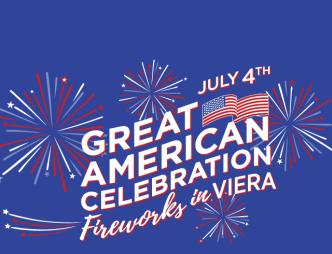 Great American Celebration Fireworks in Viera logo