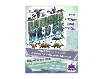 2021 Florida Wildlife 5k Poster