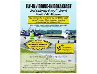 Valiant Air Command Fly-in Drive-In Flyer