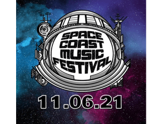 2021 Space Coast Music Festival Logo