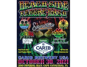 Beach Side Reggae Bash flyer